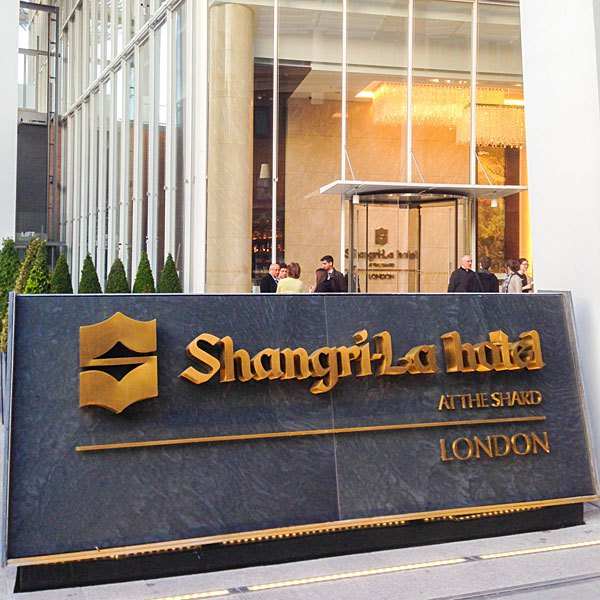 Shangrila Hotel At The Shard